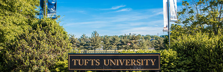 Tufts Sign